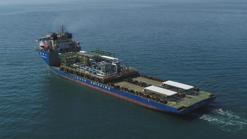 COSCO SHIPPING Specialized's Kang Sheng Kou departs Korea
